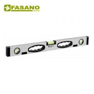 Αλφάδι αλουμινίου μανγητικό με 3 μάτια 1000mm FG 94/1000 FASANO Tools Μέτρα - Μετροταινίες