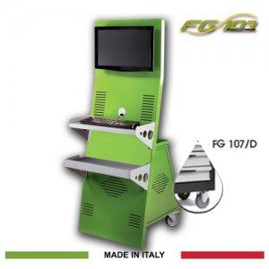 Κινητός σταθμός εργασίας γκρί FG 107/D FASANO Tools