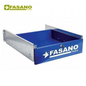 Συρτάρι πάγκου με κλειδαριά μπλέ FG 129/CB FASANO Tools