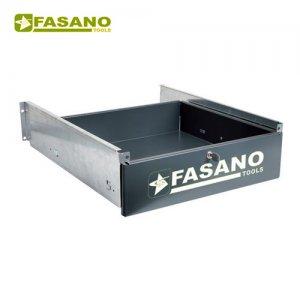 Συρτάρι πάγκου με κλειδαριά μαύρο FG 129/CD FASANO Tools Πάγκοι & Ταμπλό