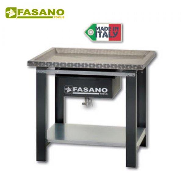 Πάγκος εργασίας ανοξείδωτος 1m αποστράγγισης υγρών FG 130/AL1 FASANO Tools Πάγκοι & Ταμπλό