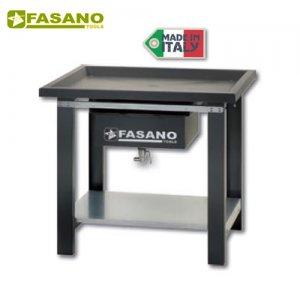 Πάγκος εργασίας 1m αποστράγγισης υγρών γκρί FG 130/D1 FASANO Tools Πάγκοι & Ταμπλό