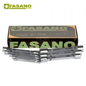 Σετ σωληνωτά κλειδιά σφυρήλατα 13τεμ. 6-32mm FG 614A/S13 FASANO Tools