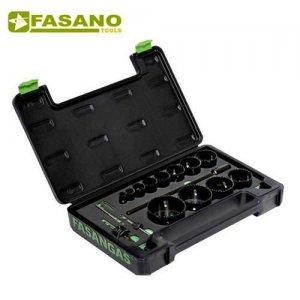 Συλλογή με ποτηροτρύπανα & οδηγούς 19-83mm FG 78HSS/S17 FASANO Tools Πριόνισμα - Κοπή