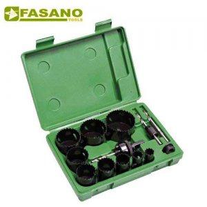 Συλλογή με ποτηροτρύπανα & οδηγούς 19-64mm FG 78HSS/S13 FASANO Tools Πριόνισμα - Κοπή