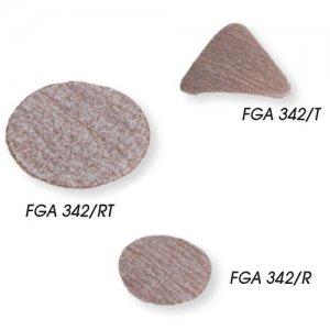 Γυαλόχαρτο τριβείου αέρος τρίγωνο K1000 FGA 342/T1000 FASANO Tools  | Εργαλεία Αέρος - Τριβεία | karaiskostools.gr