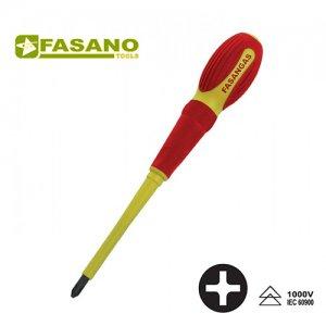 Κατσαβίδια σταυρού Phillips με μόνωση 1000 Volt σειράς FG 22E/PH FASANO Tools | Εργαλεία Χειρός - Ηλεκτρολογικά - Εργαλεία Μόνωσης 1000V | karaiskostools.gr