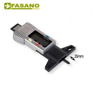 Ψηφιακός μετρητής βάθους πέλματος FG 198/DG FASANO Tools | Εργαλεία Συνεργείου - Τροχοί - Μουαγιέ:::Εργαλεία Χειρός - Μέτρα - Μετροταινίες | karaiskostools.gr