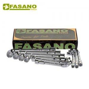 Σετ με 9 κλειδιά πίπας 8-19mm FG 613/S9 FASANO Tools Κλειδιά