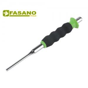 Ζουμπάς κυλινδρικός με επενδεδυμένη λαβή 2mm FG 128/CA2 FASANO Tools | Εργαλεία Χειρός - Ζουμπάδες - Καλέμια  | karaiskostools.gr