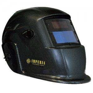 Μάσκα συγκόλλησης κεφαλής ηλεκτρονική 98x43mm IMPERIA