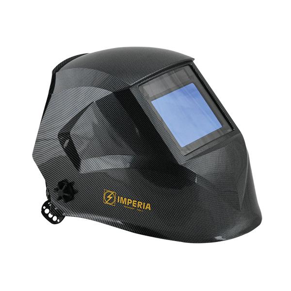 Μάσκα συγκόλλησης κεφαλής ηλεκτρονική 100x73mm IMPERIA 65621
