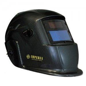 Μάσκα συγκόλλησης κεφαλής ηλεκτρονική 98x55mm