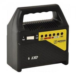 IMPERIA Φορτιστής μπαταριών 6 Ampere 6-12Volt 65638