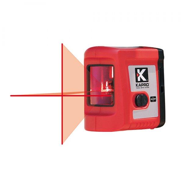 Αλφάδι laser 2 ακτίνων κόκκινο 862 KAPRO 633110 | Ηλεκτρικά Εργαλεία - Όργανα Μέτρησης | karaiskostools.gr