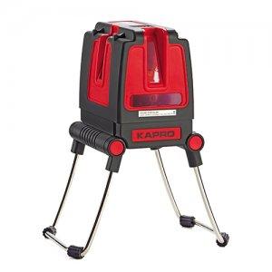 Αλφάδι laser 3 ακτίνων κόκκινο 873 KAPRO 633114 | Ηλεκτρικά Εργαλεία - Όργανα Μέτρησης | karaiskostools.gr