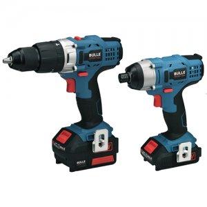 Σετ εργαλείων 18Volt PLCDL-M130JST & PLIL-M131 2x2Ah Li-Ion BULLE 63468 | Ηλεκτρικά Εργαλεία - Εργαλεία Μπαταρίας | karaiskostools.gr
