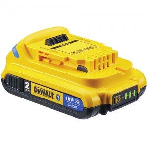 DEWALT DCB183B Μπαταρία συρόμενη Bluetooth XR LI-ION 2.0A 18V