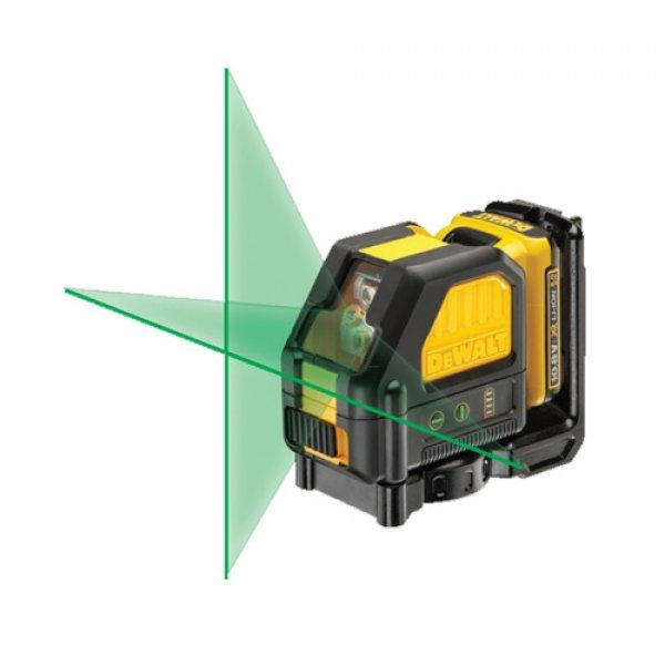 Λέϊζερ αυτοαλφαδιαζόμενο προβολής πράσινου σταυρού DCE088D1G DEWALT  Όργανα Μέτρησης