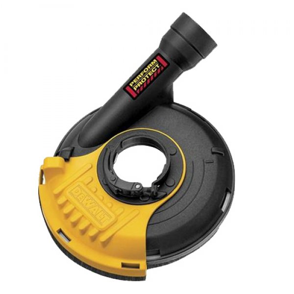 Εξαρτημα εξαγωγής σκόνης για γωνιακούς τροχούς 115-125mm DWE46150 DEWALT Εργαλεία Μπαταρίας