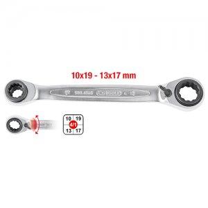 Πολύγωνο κλειδί καστάνιας διπλό 10x13x17x19mm KS TOOLS 503.4565 Κλειδιά