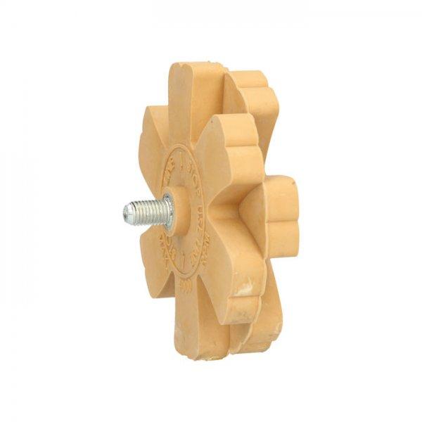 Λαστιχένιος δίσκος ξυσίματος με ελάσματα 515.1248 KS TOOLS