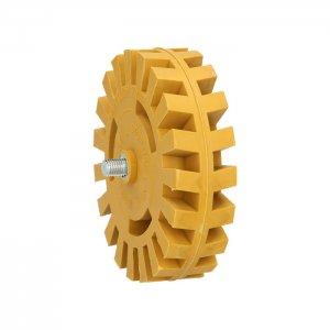 Λαστιχένιος δίσκος ξυσίματος με ελάσματα 515.1249 KS TOOLS