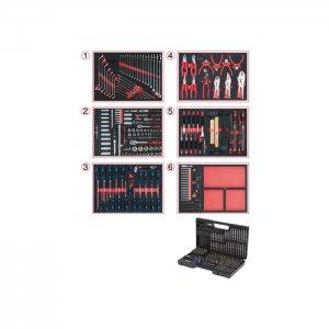Συλλογή εργαλειίων γενικής χρήσης για 6 συρτάρια με 598 εργαλεία 713.0598 KS TOOLS