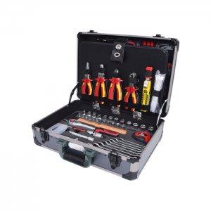 """Εργαλειοθήκη ηλεκτρολόγων 1/4"""" και 1/2"""", 128 τεμαχίων 911.0628 KS TOOLS"""