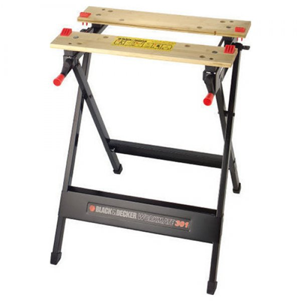 Καβαλέτο - πάγκος εργασίας πτυσσόμενος Workmate 301 WM301 BLACK AND DECKER | Οικοδομικά Διακίνηση - Καβαλέτα | karaiskostools.gr