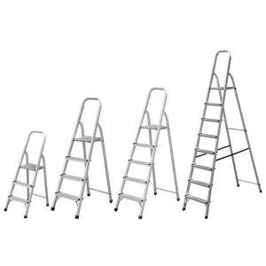 Σκάλα αλουμινίου 5 + 1 σκαλιά BULLE SA5+1 Σκάλες