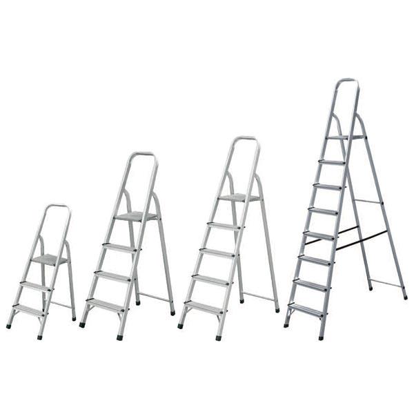Σκάλα αλουμινίου 3 + 1 σκαλιά BULLE SA3+1 Σκάλες
