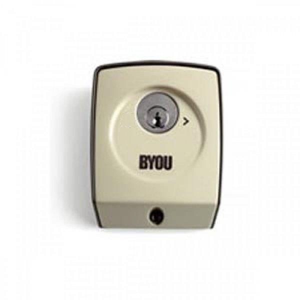 Διακόπτης με κλειδί για γκαραζόπορτες BYOU