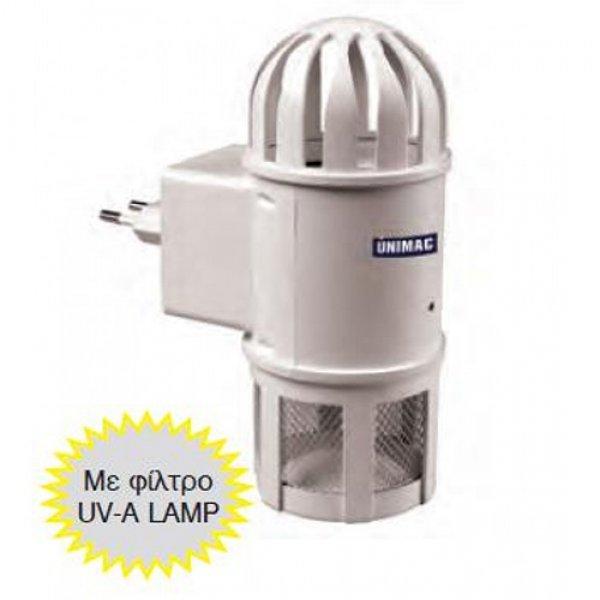 Εντομοπαγίδα ηλεκτρική 4 Watt MT-1 UNIMAC 661140 Εντομοπαγίδες