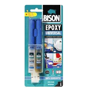 Bison Εποξική κόλλα διπλής σύριγγας Universal 24ml