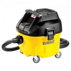Ηλεκτρική σκούπα 30lt στερεών - υγρών 1400 Watt DEWALT DWV901L