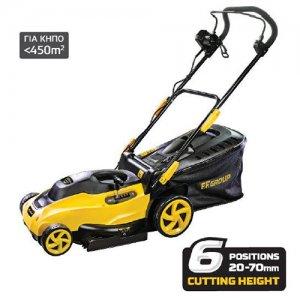Ηλεκτρική μηχανή κοπής γκαζόν 1400W ELM 34/1400 PLUS FF GROUP | Σπίτι & Κήπος - Εργαλεία Κήπου - Μηχανές Γκαζόν | karaiskostools.gr