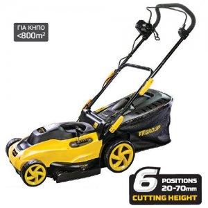 Ηλεκτρική μηχανή κοπής γκαζόν 1800W ELM 42/1800 PLUS FF GROUP | Σπίτι & Κήπος - Εργαλεία Κήπου - Μηχανές Γκαζόν | karaiskostools.gr