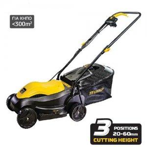 Ηλεκτρική μηχανή κοπής γκαζόν 1000W ELM 32/1000 EASY FF GROUP | Σπίτι & Κήπος - Εργαλεία Κήπου - Μηχανές Γκαζόν | karaiskostools.gr