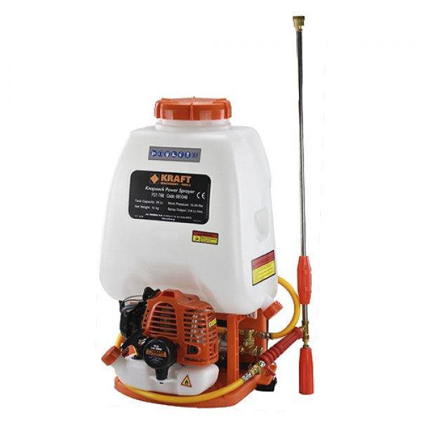 Ψεκαστικό πλάτης 25L βενζίνης  26cc δίχρονο KRAFT 691046 | Σπίτι & Κήπος | Ψεκαστήρες - Ψεκαστικά | Εργαλεία karaiskostools.gr