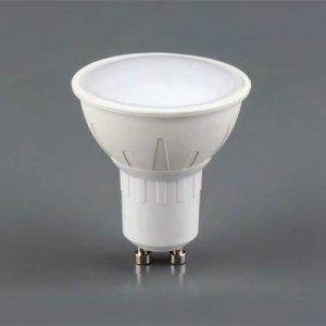 COM Λάμπα LED spot 6 Watt 460 lumen GU10 3000 kelvin Φωτισμός LED