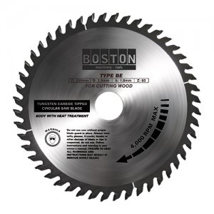 BOSTON BE-16040 ΔΙΣΚΟΣ ΚΟΠΗΣ ΞΥΛΟΥ Φ160/20 Ζ40 - 48181